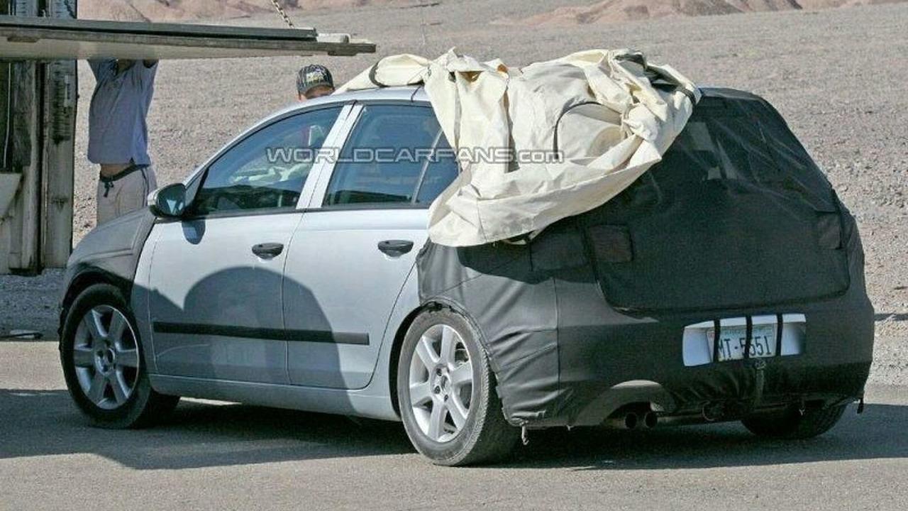 VW Golf Mk. VI spied on a California road in July, 2007