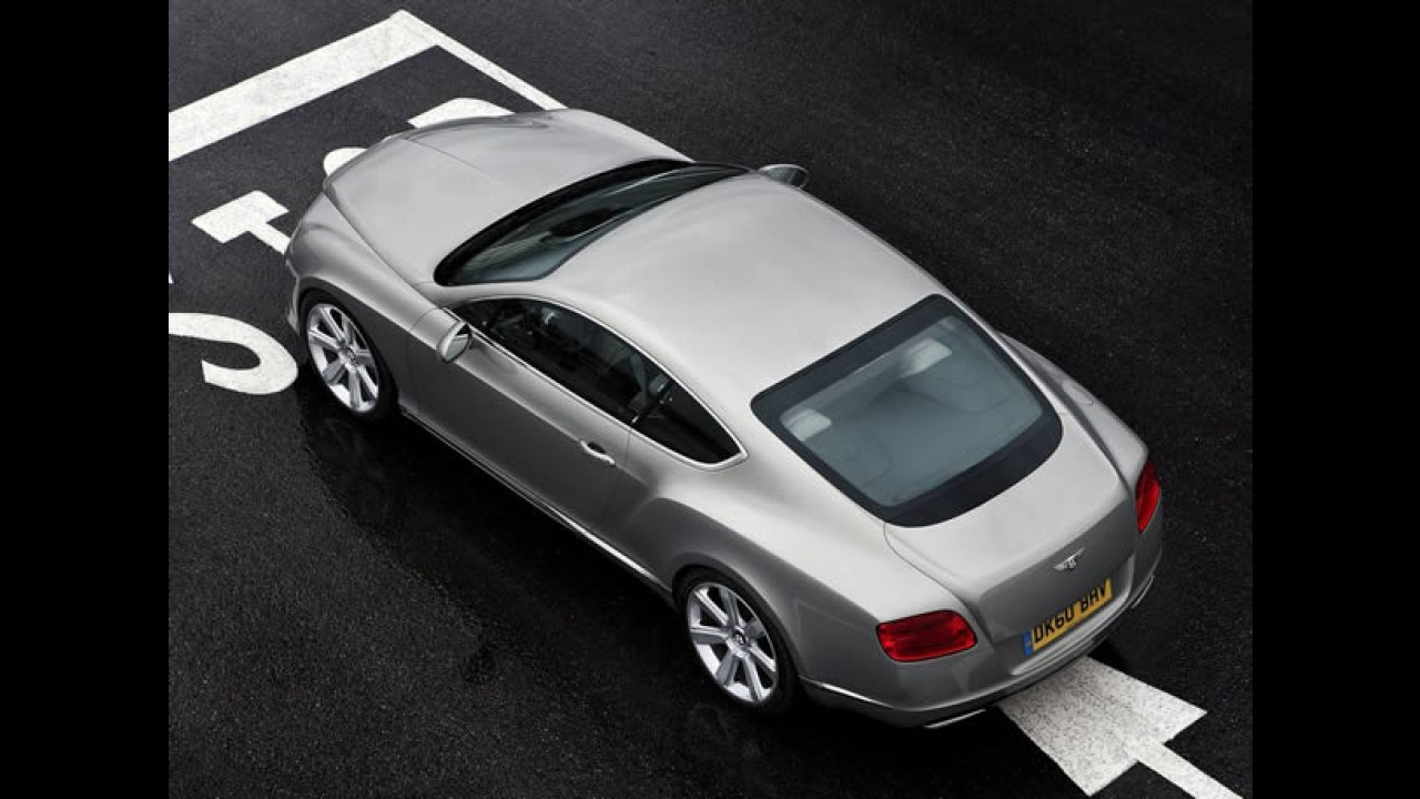 Bentley Continental GT 2012 - Novo visual e motor W12 bicombustível