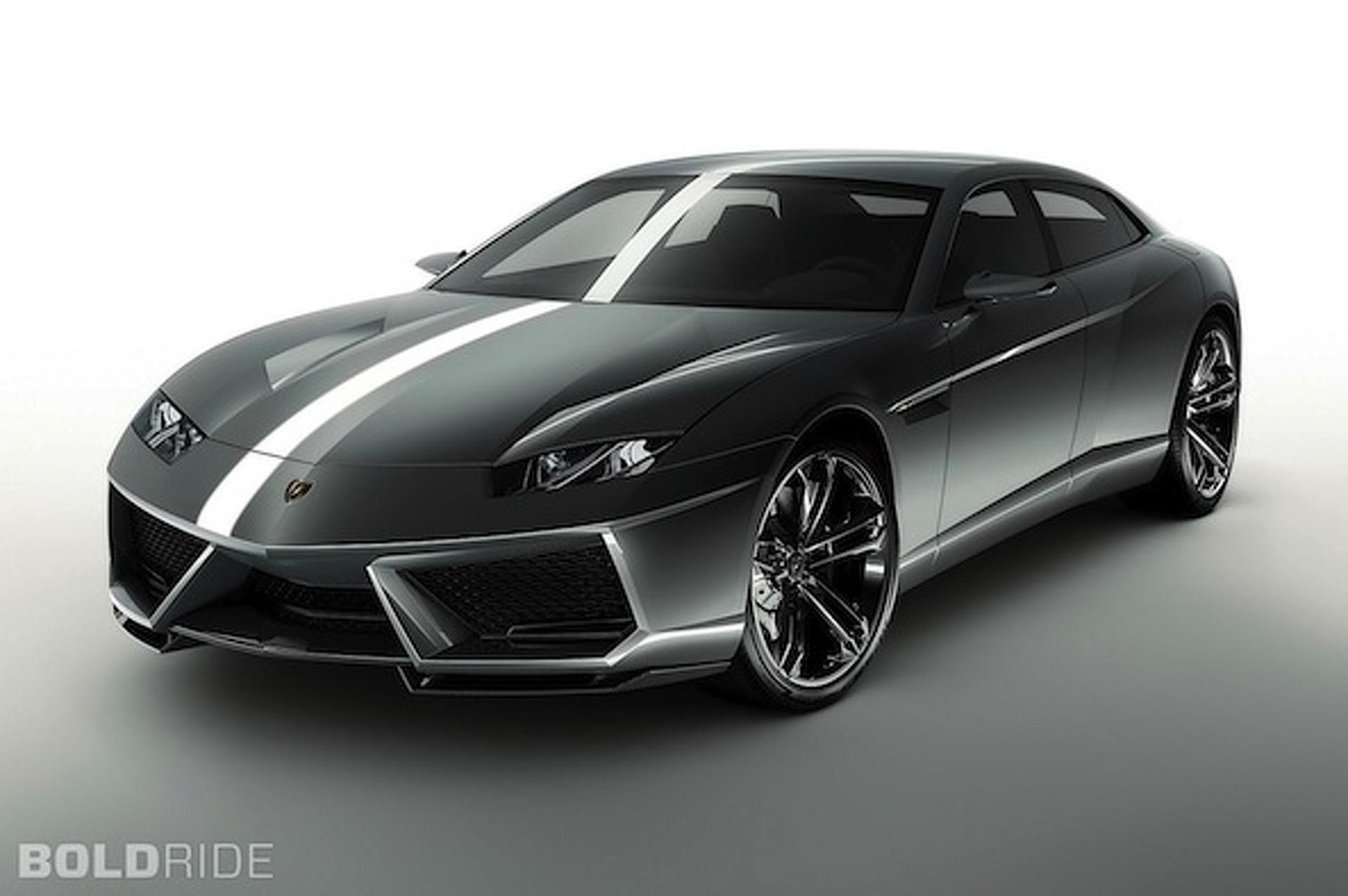 Lamborghini Unveiling V12 GT Car in Geneva