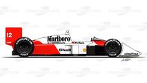 1988 - McLaren MP4/4