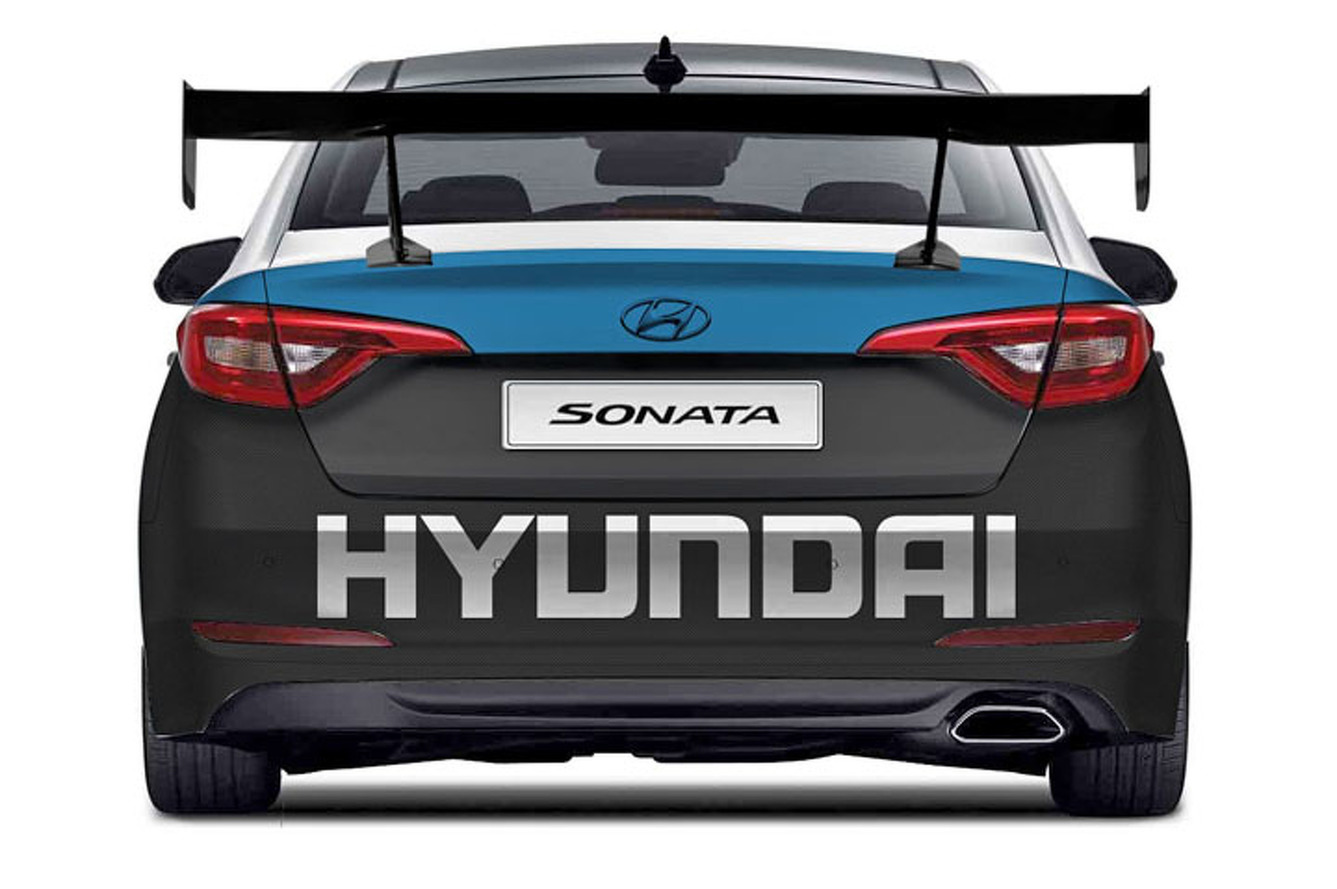 Hyundai Sonata Pumps Out 708HP for SEMA [w/Video]