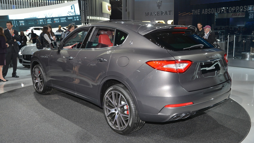 2017 Maserati Levante, New York