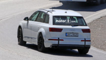 Audi Q8 test mule spy shots