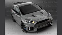 2017 Ford Focus RS500 render