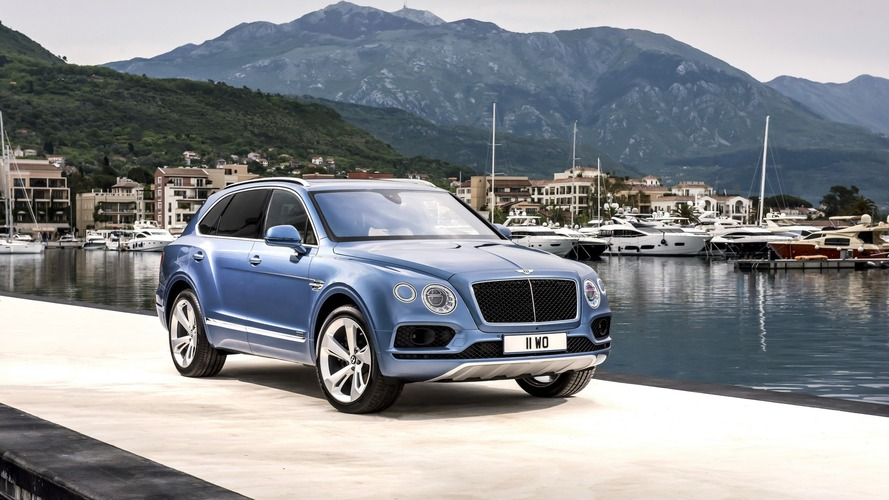 Bentley Bentayga Diesel debuts with Audi SQ7 power at almost double the price