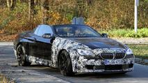 2012 BMW M6 Cabrio spy photo - 18.11.2011