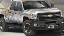 Chevrolet Silverado Realtree concept teased for SEMA [video]