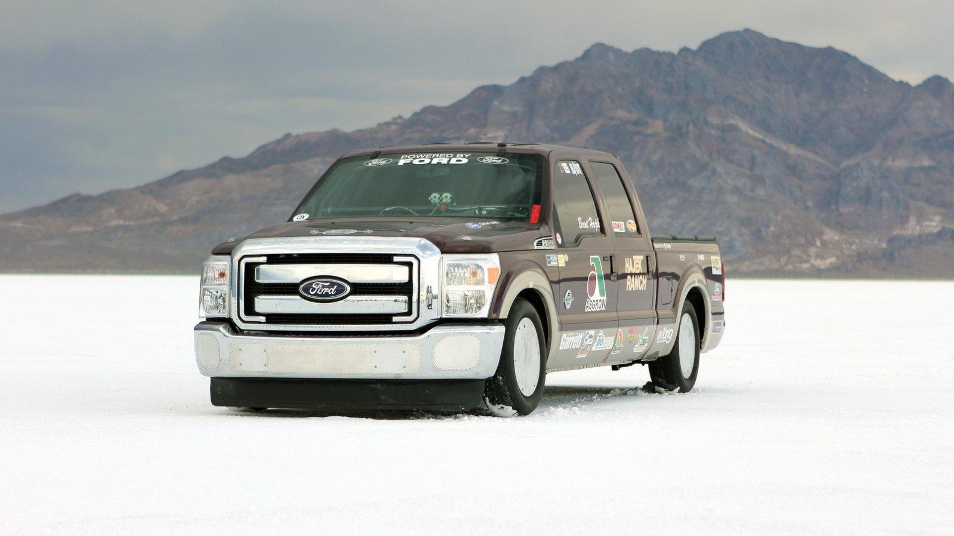 Two land speed records cracked with Ford F-250 Super Duty