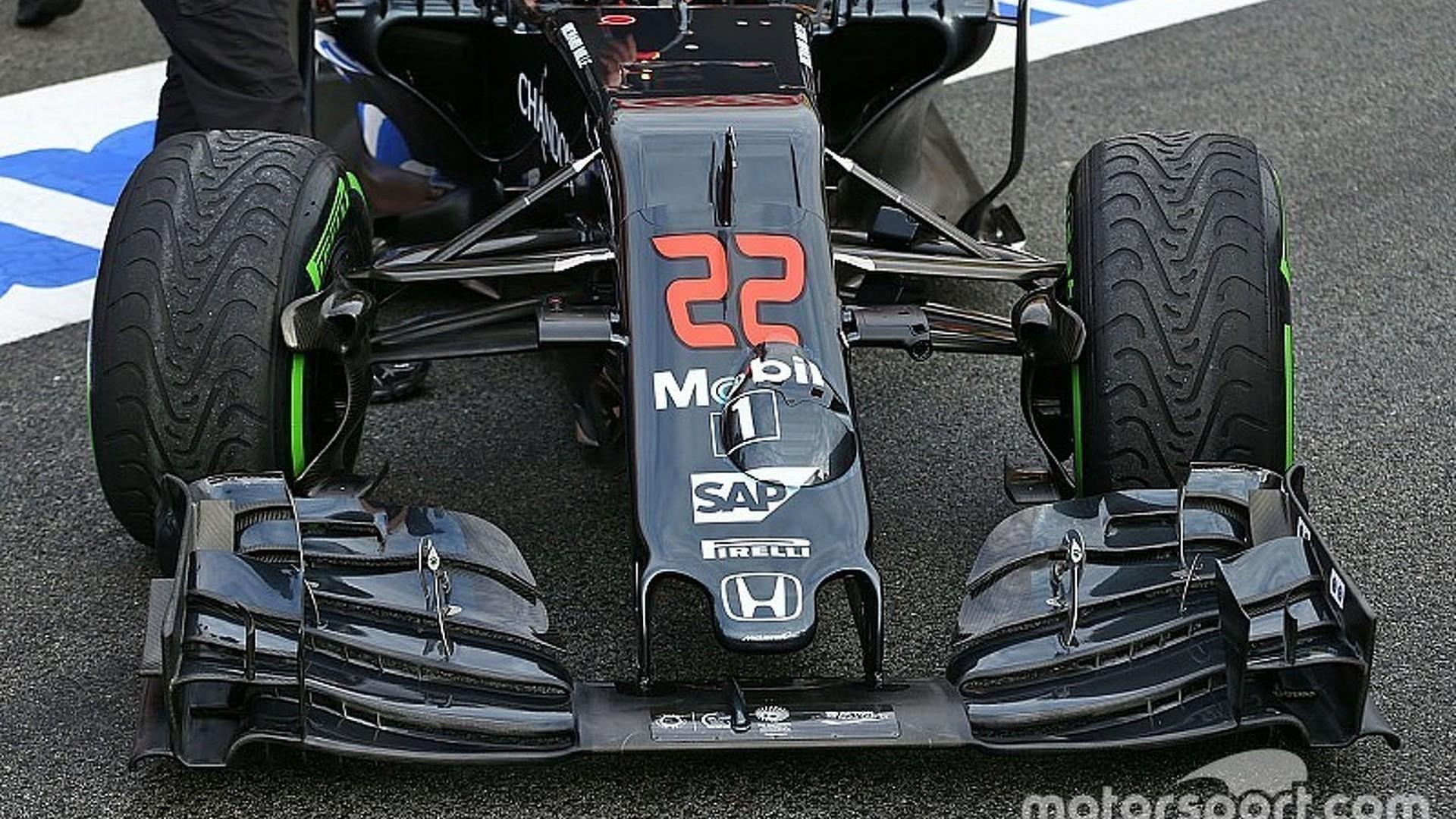 Revealed: McLaren's novel MP4-31 suspension