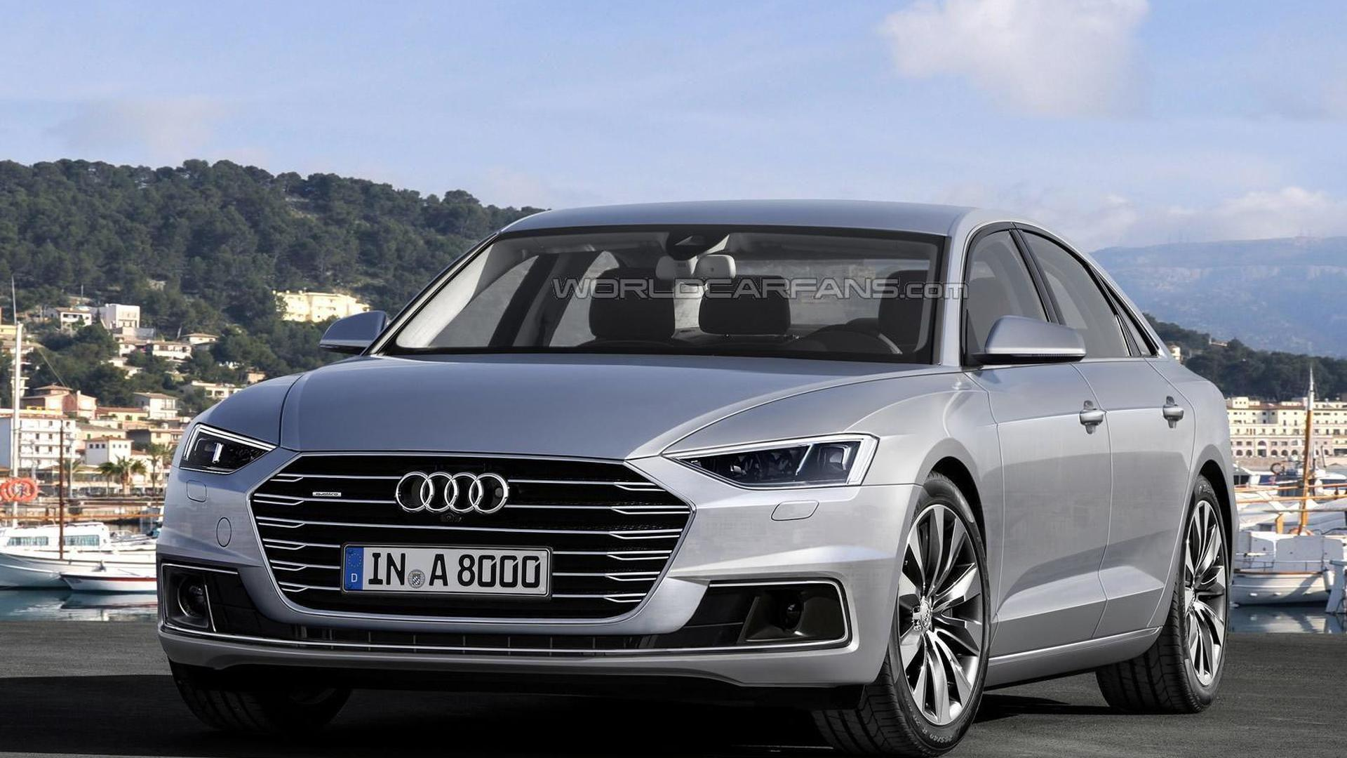 Next-gen Audi A8 officially confirmed for 2017 launch