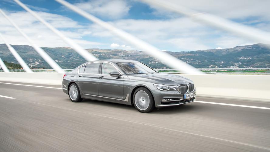 BMW 750d 2016