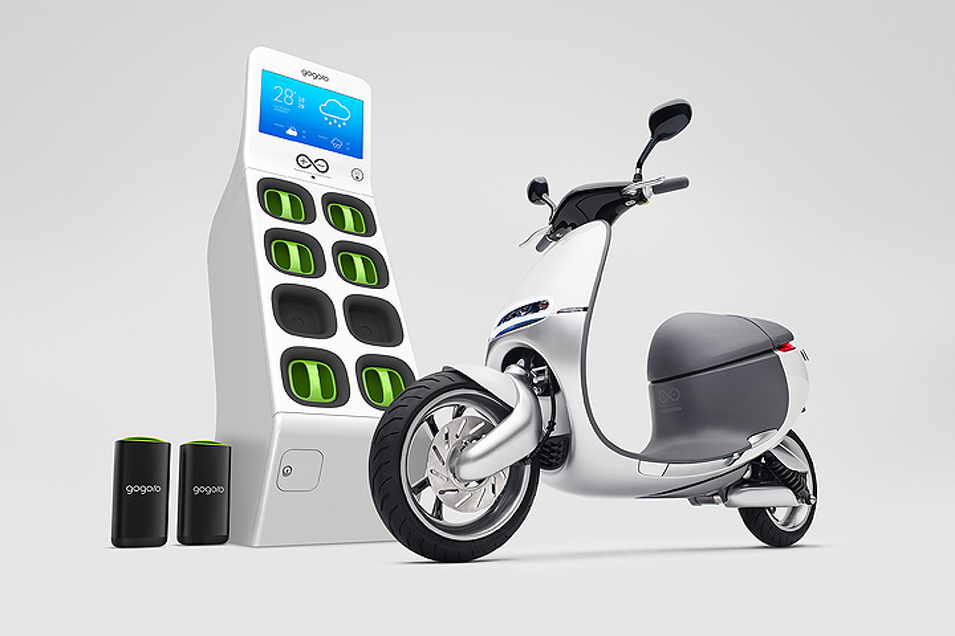 The Gogoro e-Scooter Solves Mobility Problems with Smartphone Tech