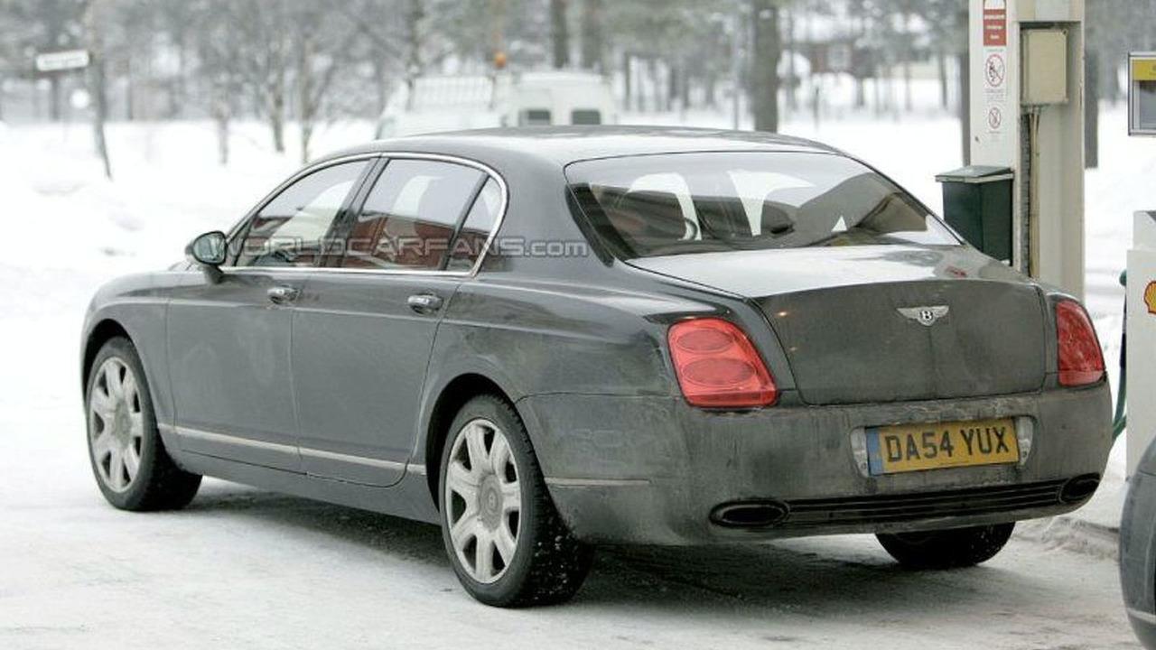 Spy: Bentley Continental Flying Spur Facelift