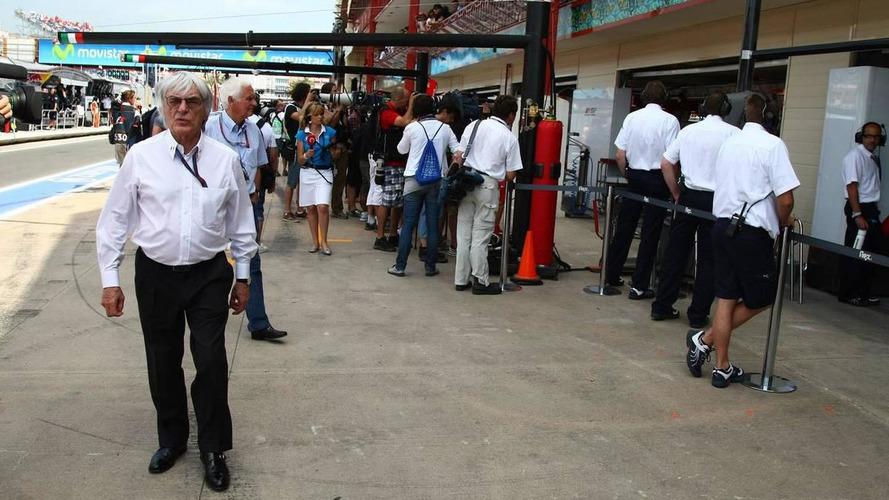 Ecclestone happy with F1 'home' in Valencia