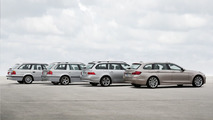 BMW 5 Series Touring - 4 generations