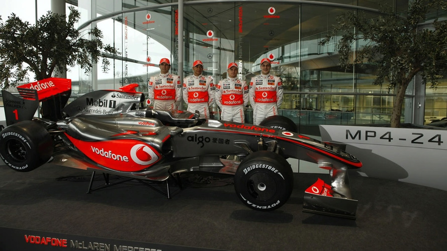 McLaren Launch 2009 MP4-24 F1 Car as Ron Dennis Announces Plans to Step Down