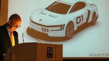 Volkswagen Chairman Ferdinand Piech reveals a Ducati-powered XL Sport