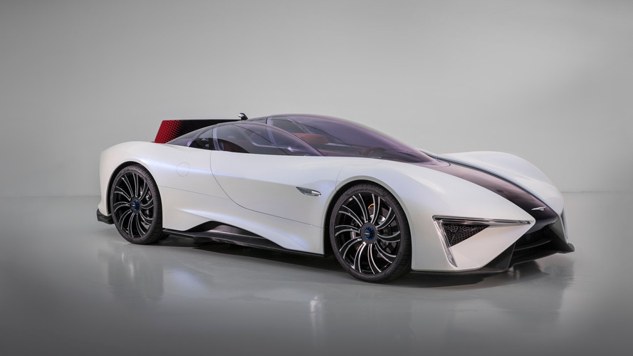 Genève 2017 - 1287 chevaux pour la supercar électrique à turbine