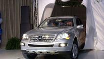 Mercedes-Benz M-Class 'Job One' Rolls off Production Line