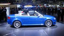 Audi RS 4 Cabriolet at Geneva
