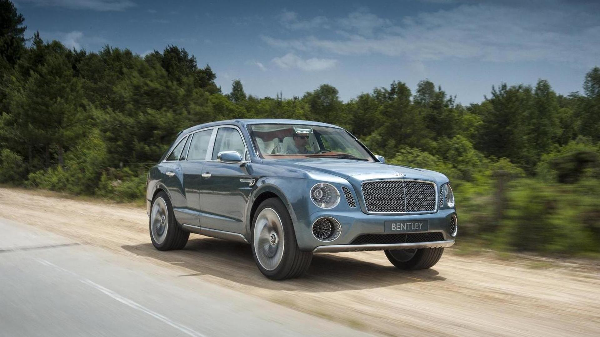 Updated Bentley EXP 9 F concept could debut later this year - report