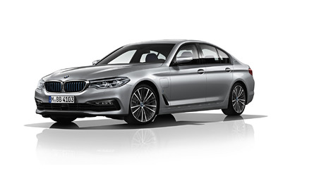 2017 BMW 530e with 28-mile electric range detailed