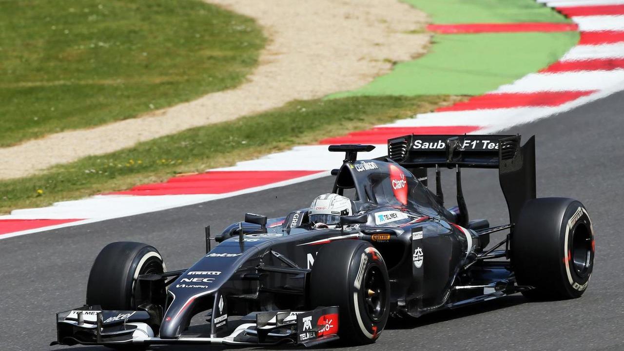 Giedo van der Garde (NLD), Sauber C33 Reserve Driver, 09.07.2014, Formula One Testing, Silverstone, England / XPB