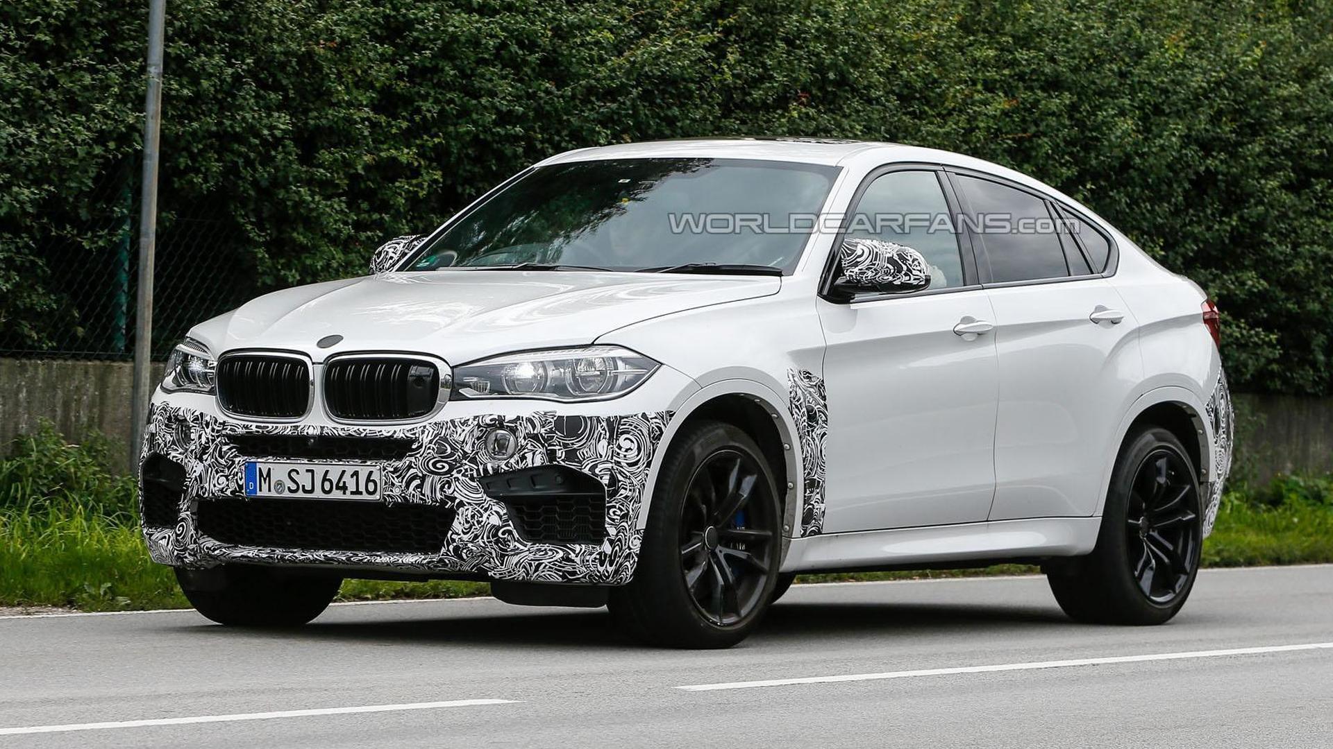 BMW X6 M drops some camo in latest spy photos