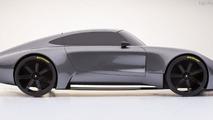Porsche 901 concept render