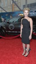 Scarlett Johansson with S.H.I.E.L.D. Acura MDX 13.4.2012