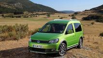 Volkswagen Cross Caddy revealed
