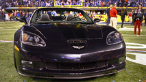 Super Bowl MVP Eli Manning with New Corvette Convertible 05.02.2012