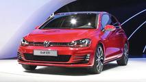 Volkswagen Golf VII GTI concept live in Paris 27.09.2012