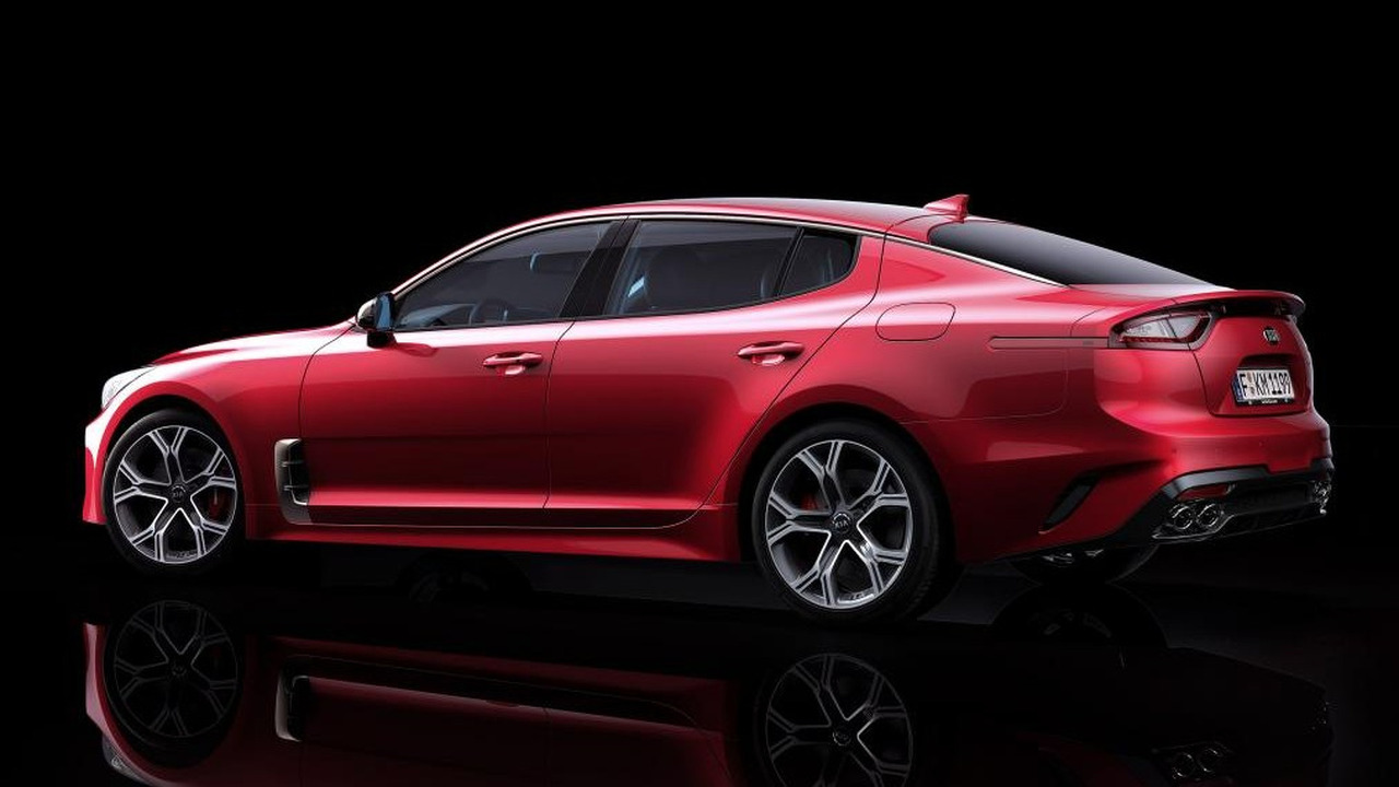 2018 kia stinger is a stylish gran turismo with biturbo v6. Black Bedroom Furniture Sets. Home Design Ideas