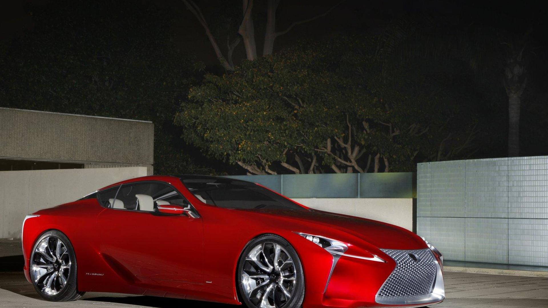 Lexus to aggressively expand lineup in 2012