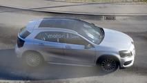 2017 Mercedes GLA spy photo