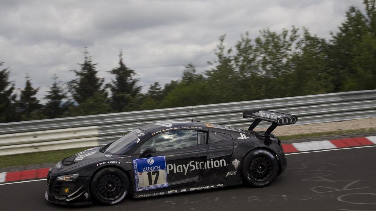 Audi R8 LMS - 17.8.2011