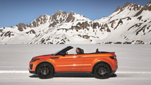 Range Rover Evoque Convertible officially revealed with fabric roof [videos]