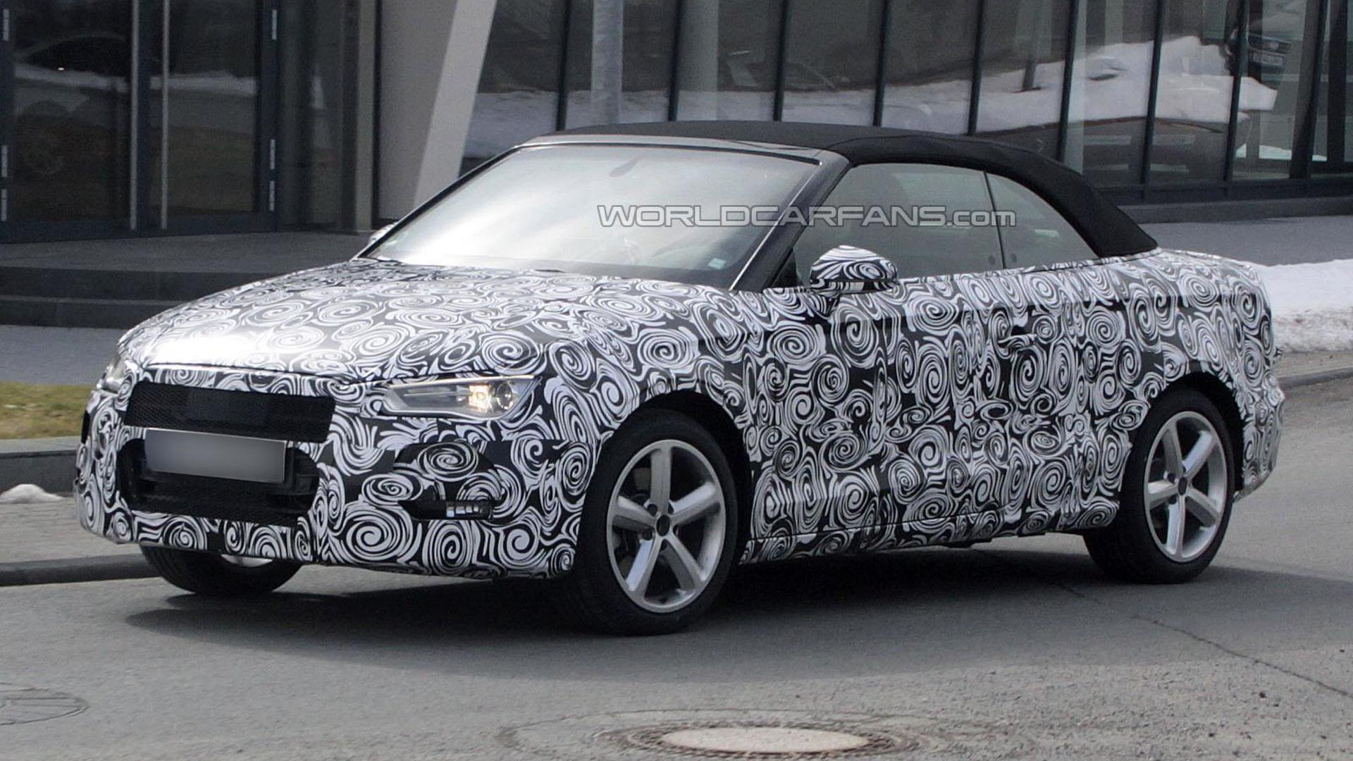 2014 Audi A3 Cabrio confirmed for Frankfurt Motor Show in September
