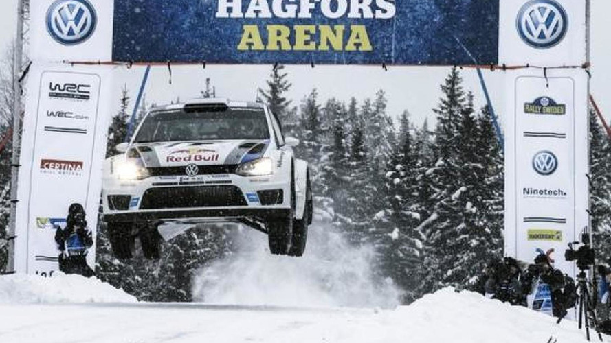 Volkswagen Polo R WRC wins Rally Sweden
