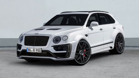 Bentley Bentayga tuner to show voluptuous wide-body in Geneva