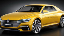 Volkswagen Corrado revival digitally imagined