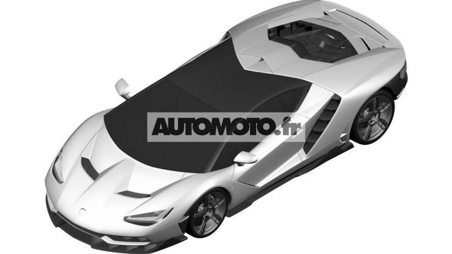 Lamborghini Centenario LP 770-4 looks like it comes from the future