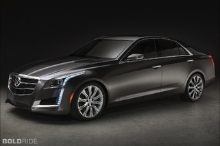 2014 Cadillac CTS Takes a Bow