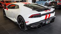 Lamborghini Huracan with factory aero pack