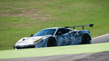 Racing Ferrari 488 GTE spied for the first time