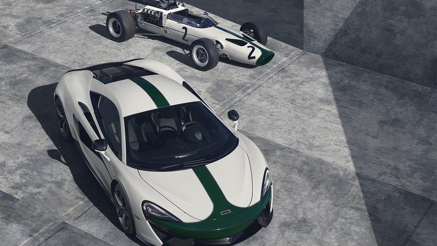 McLaren dresses up 570S in the livery of its first F1 car