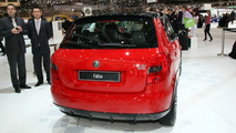 Skoda Fabia vRS design study at Geneva 2009
