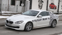 2012 BMW 6 series Coupe spied with glass roof