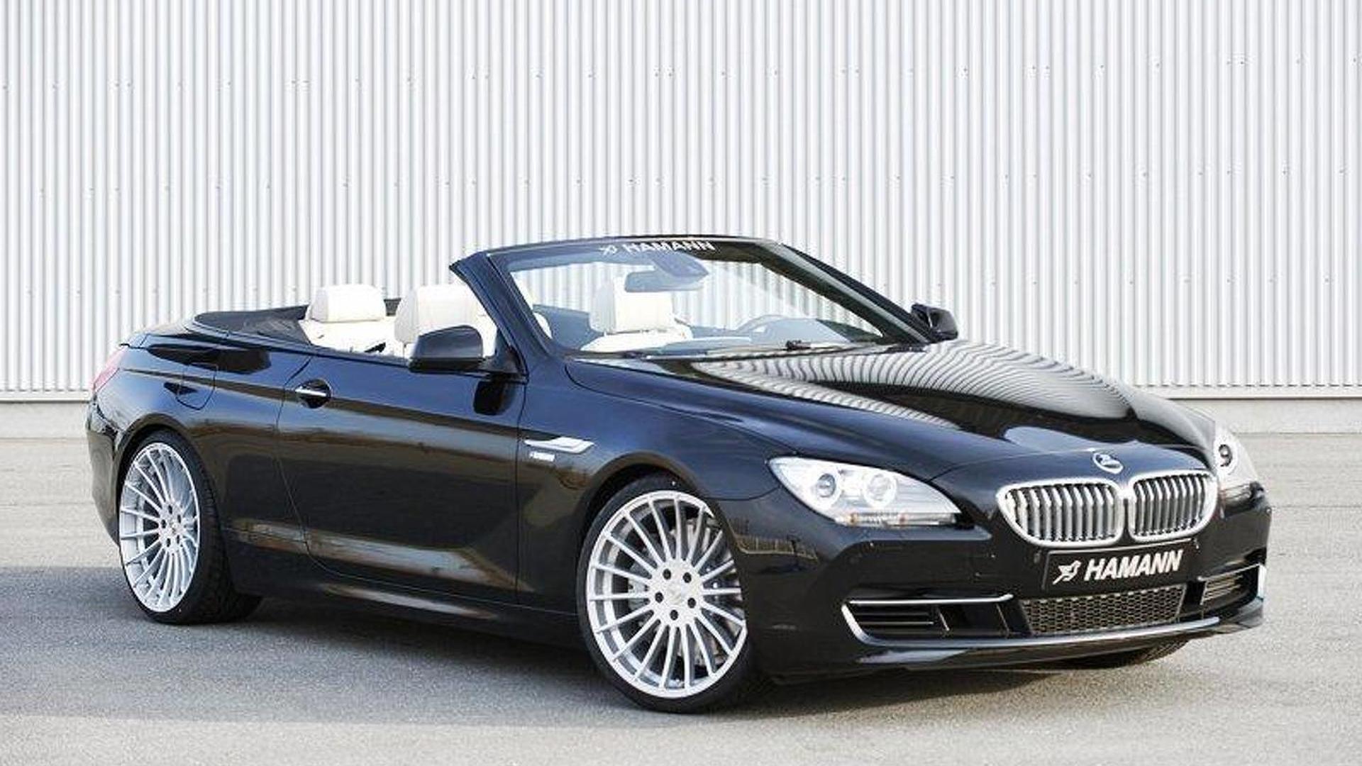Hamann accessorizes 2012 BMW 6-Series Cabrio